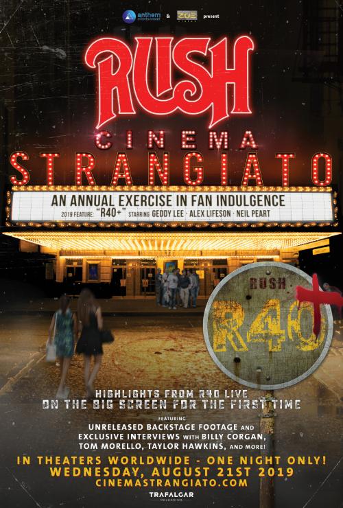 "Movie poster image for ""RUSH: CINEMA STRANGIATO 2019"""