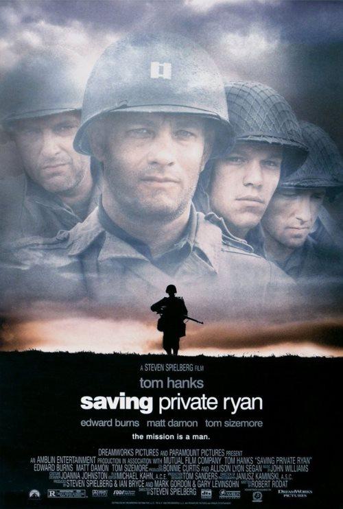 "Movie poster image for ""SAVING PRIVATE RYAN"""