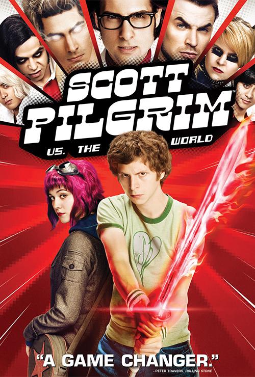 """Movie poster image for """"SCOTT PILGRIM VS. THE WORLD"""""""