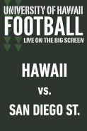 HAWAII vs. SAN DIEGO STATE - UH Football