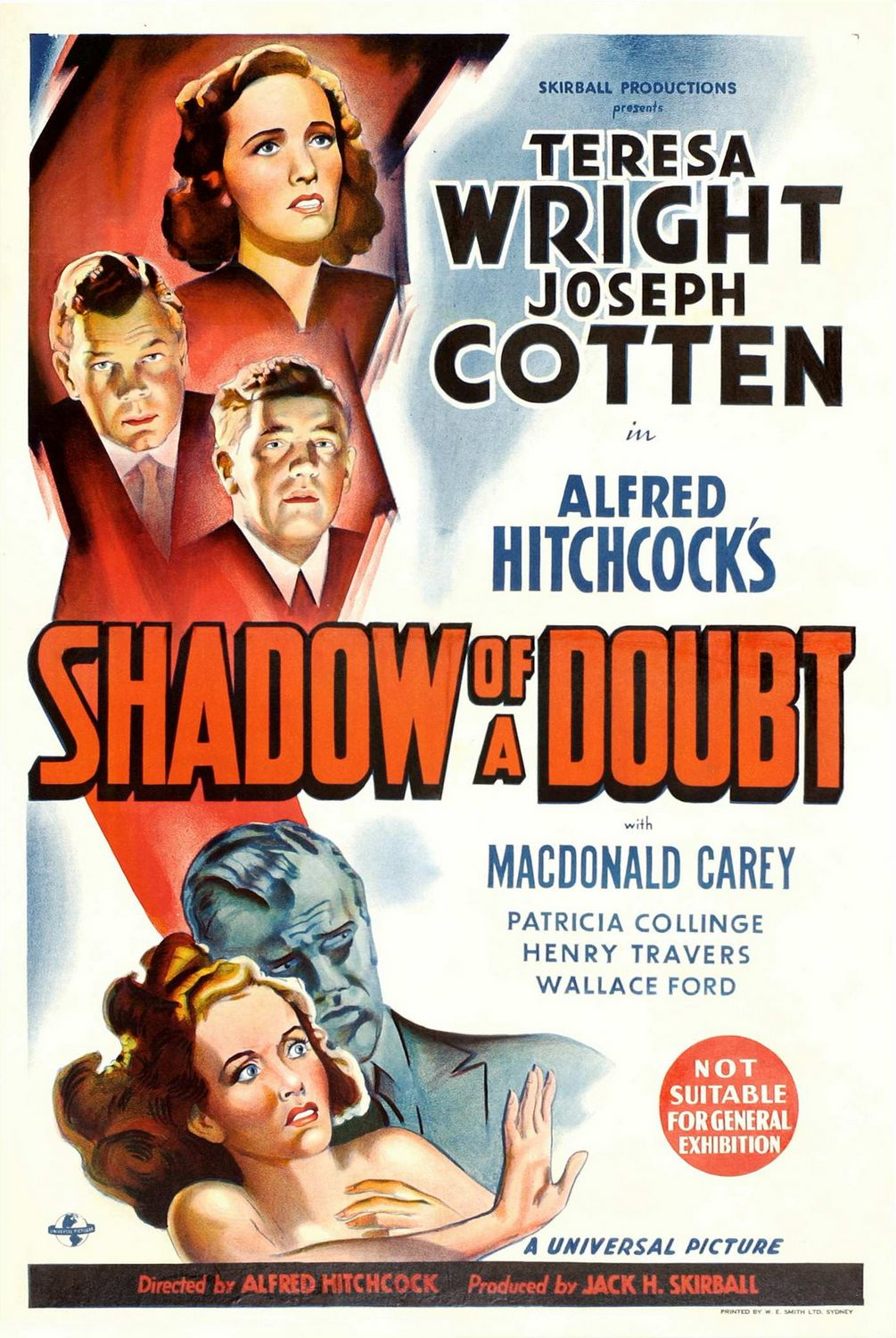 Movie poster image for SHADOW OF A DOUBT