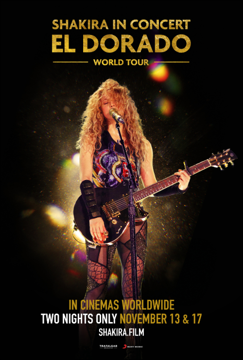 "Movie poster image for ""SHAKIRA IN CONCERT: EL DORADO WORLD TOUR"""