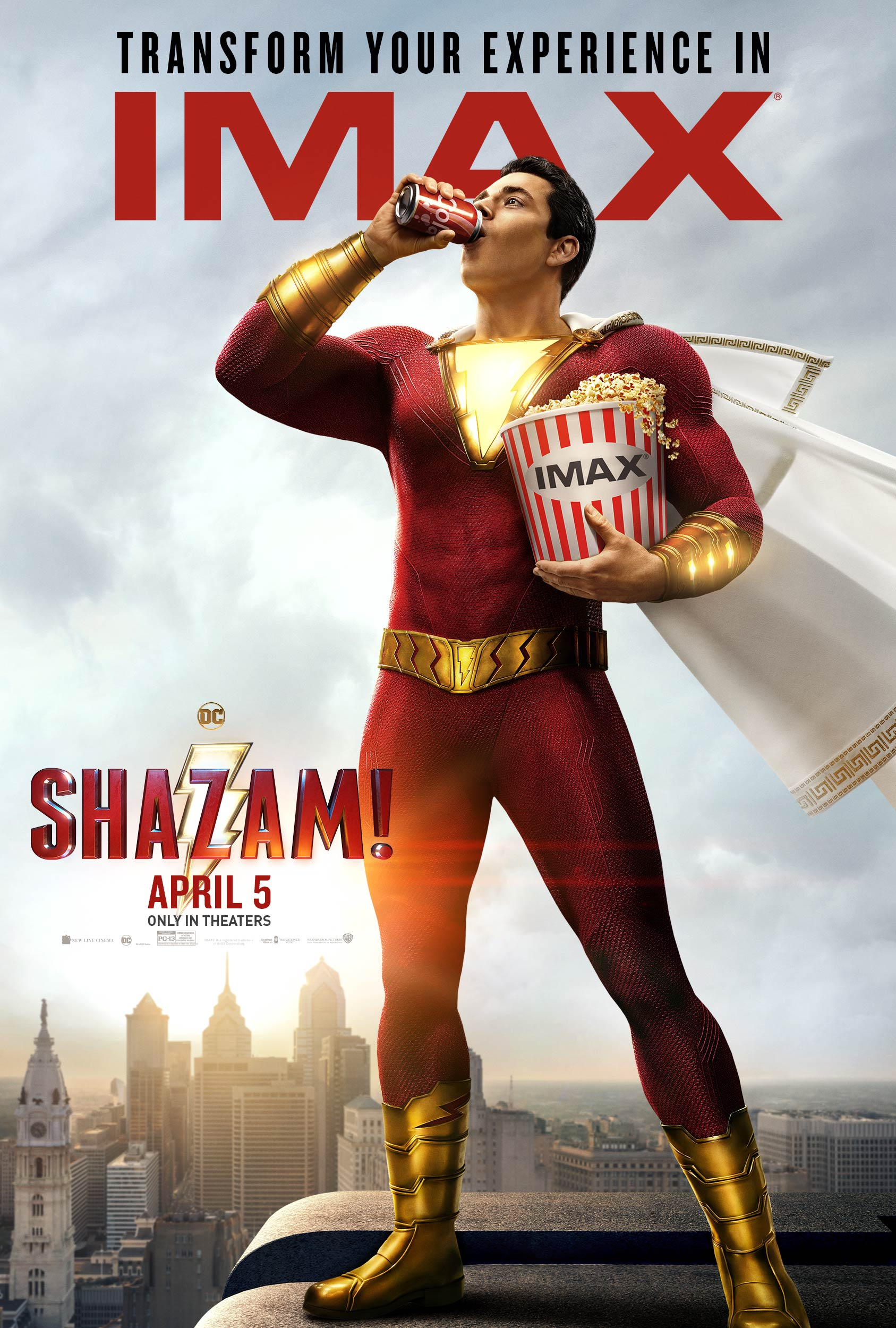 """Movie poster image for """"SHAZAM! in IMAX"""""""