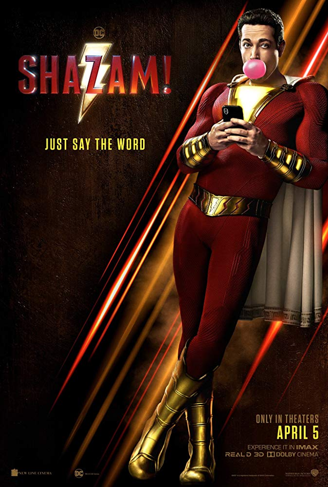 "Movie poster image for ""SHAZAM!"""