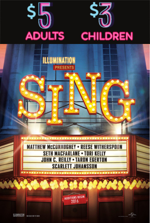 Movie poster image for SING