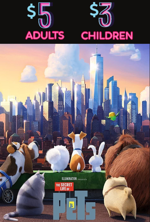 Movie poster image for THE SECRET LIFE OF PETS