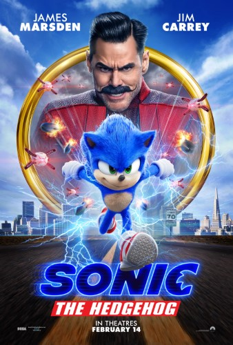 Movie poster image for 'SONIC THE HEDGEHOG'