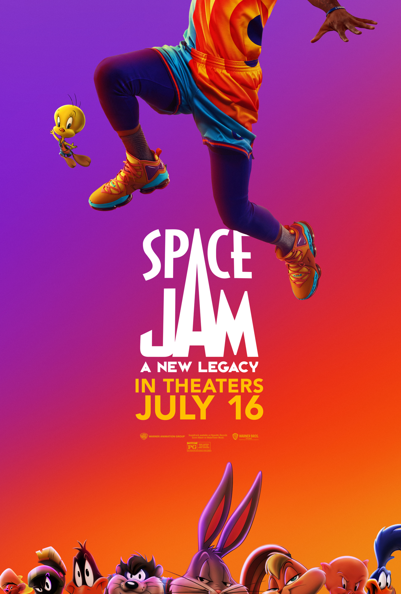 Movie poster image for SPACE JAM: A NEW LEGACY