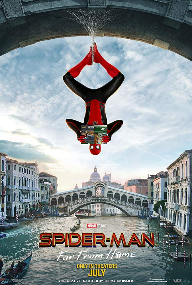 "Movie poster image for ""SPIDER-MAN: FAR FROM HOME"""
