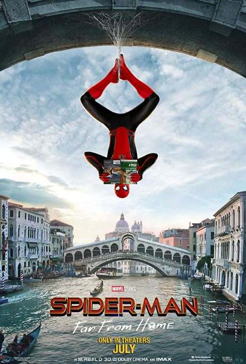 """Movie poster image for """"SPIDER-MAN: FAR FROM HOME EXTENDED CUT"""""""