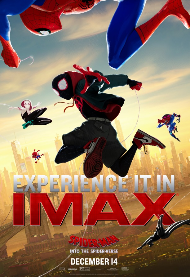 """Movie poster image for """"SPIDER-MAN: INTO THE SPIDER-VERSE in IMAX"""""""