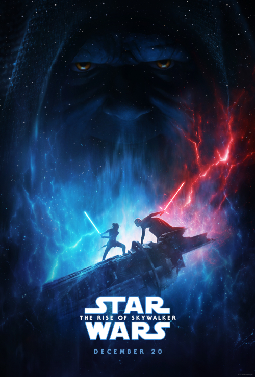 "Movie poster image for ""STAR WARS: THE RISE OF SKYWALKER"""
