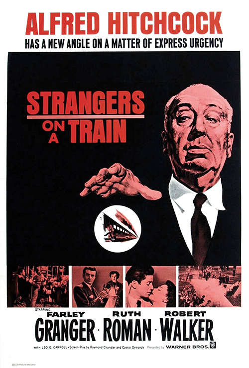 Movie poster image for STRANGERS ON A TRAIN