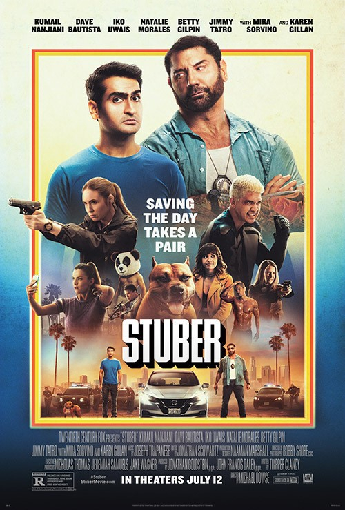 "Movie poster image for ""STUBER"""