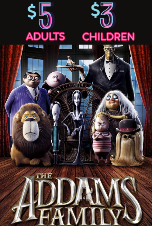 Movie poster image for THE ADDAMS FAMILY