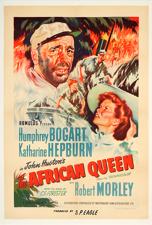 """Movie poster image for """"THE AFRICAN QUEEN"""""""