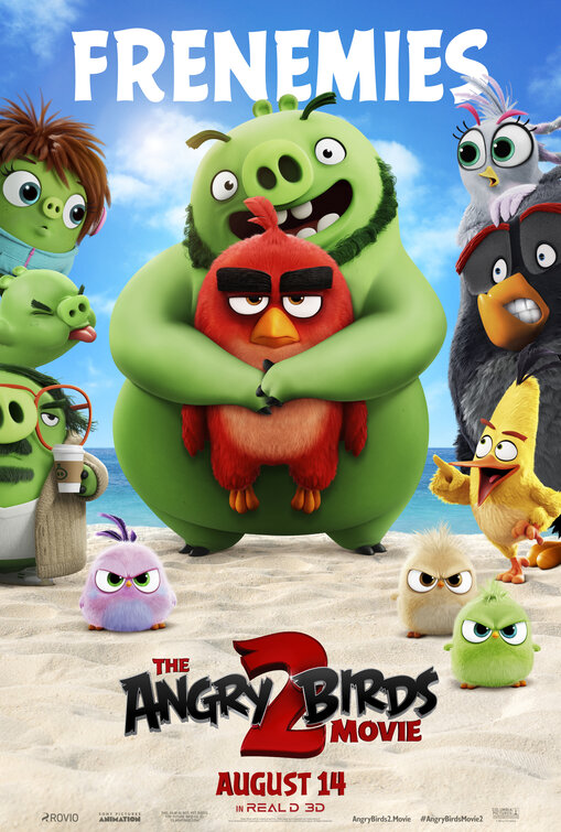 "Movie poster image for ""THE ANGRY BIRDS MOVIE 2"""