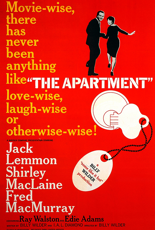 "Movie poster image for ""THE APARTMENT"""