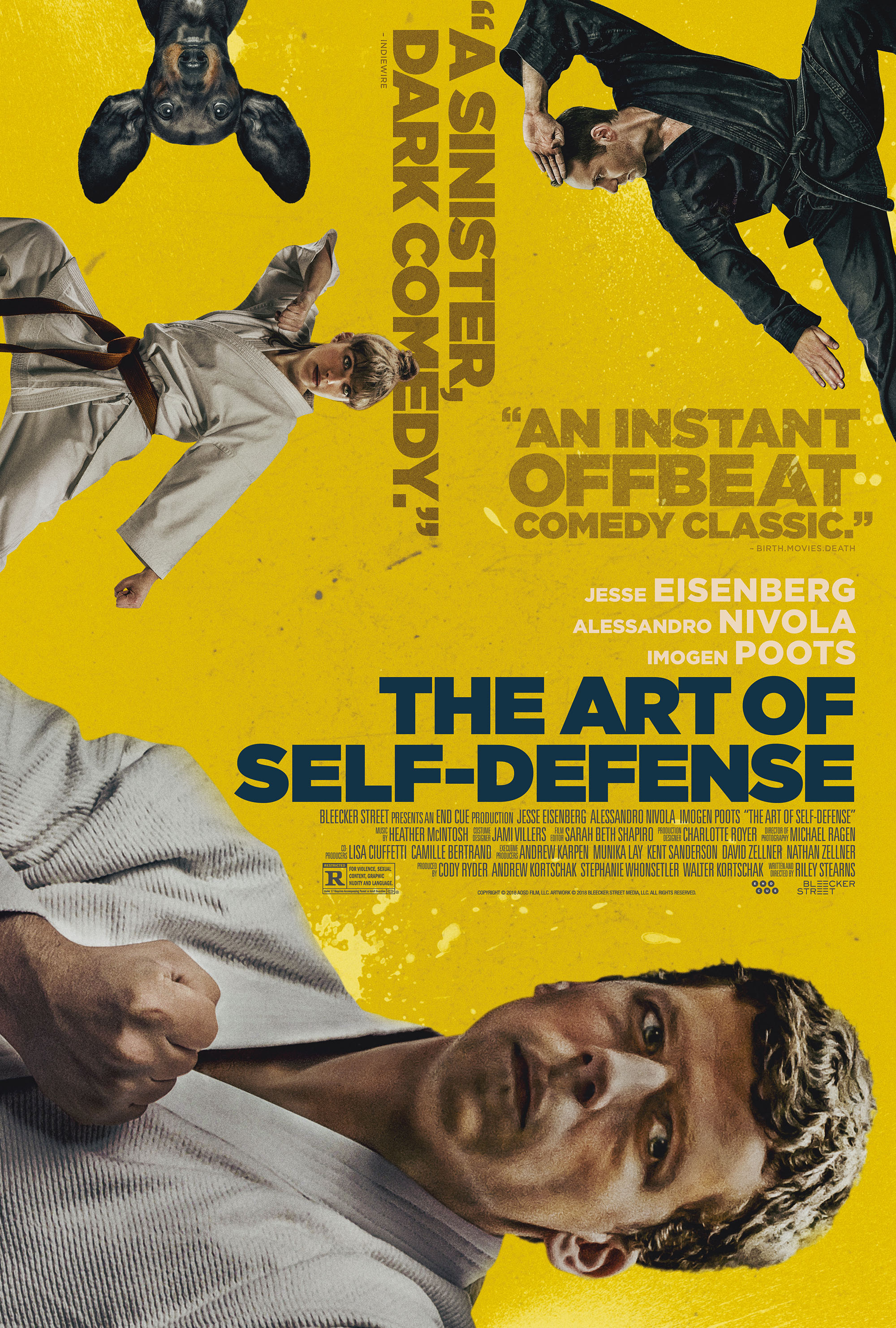 "Movie poster image for ""THE ART OF SELF-DEFENSE"""