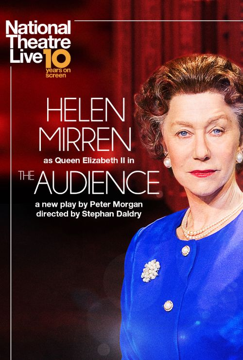 """Movie poster image for """"NATIONAL THEATRE LIVE: THE AUDIENCE"""""""
