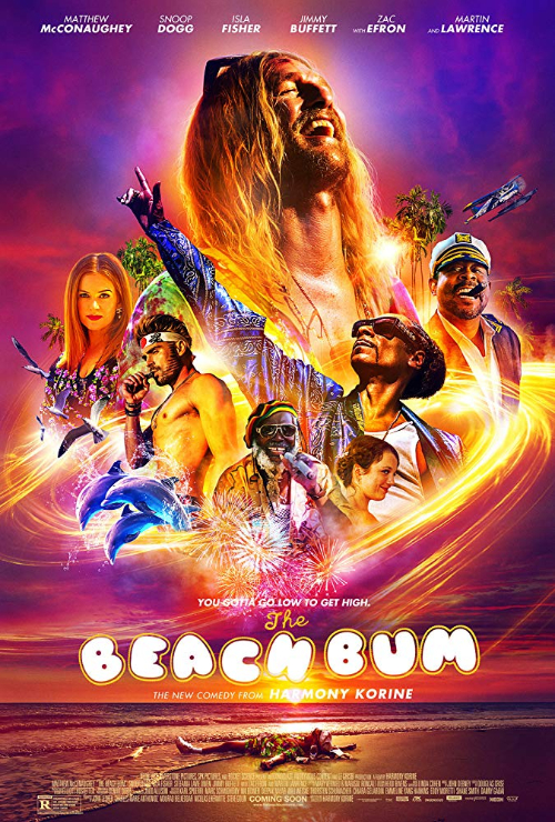 "Movie poster image for ""THE BEACH BUM"""