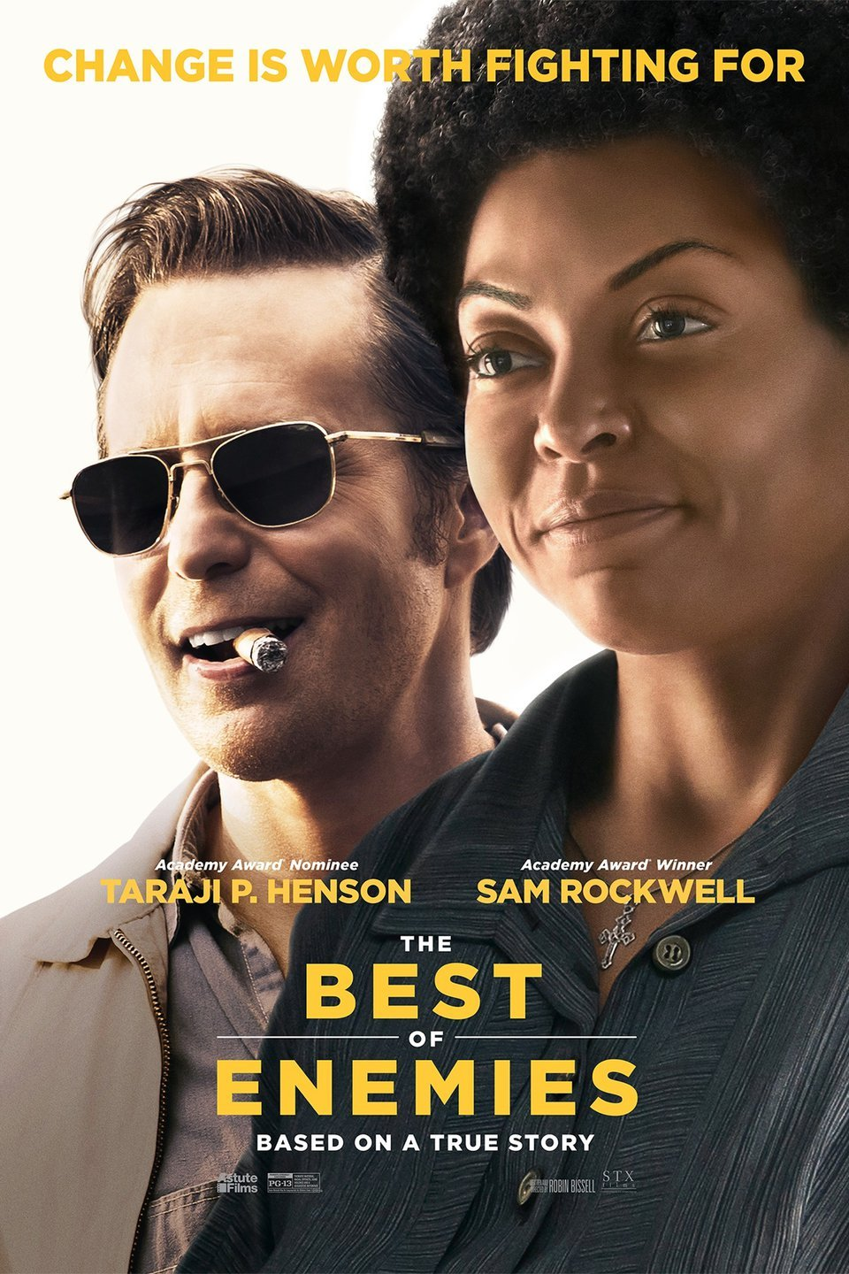 "Movie poster image for ""THE BEST OF ENEMIES"""