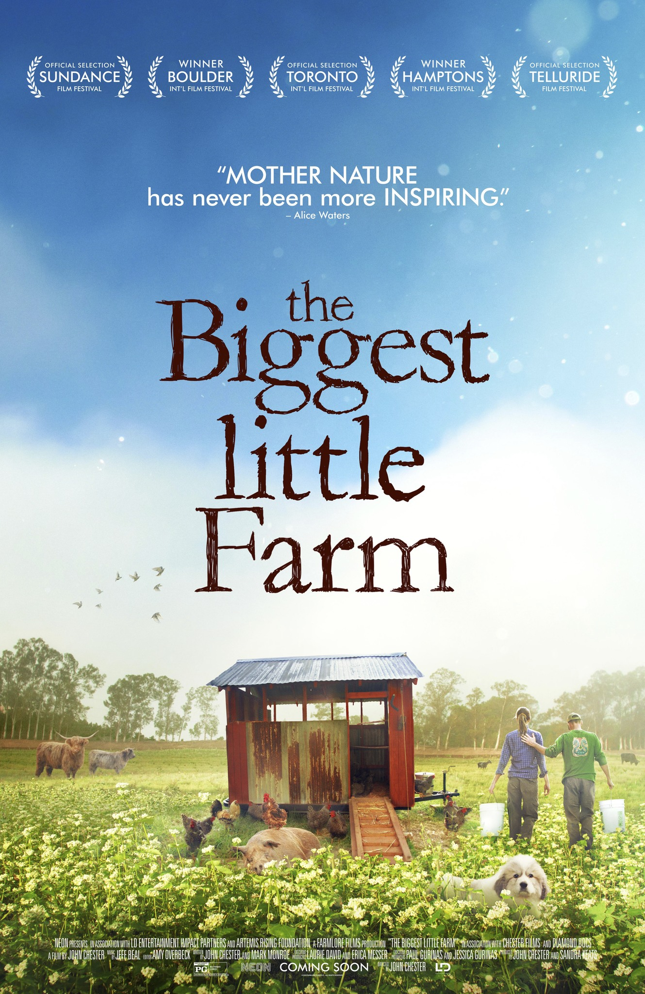 "Movie poster image for ""THE BIGGEST LITTLE FARM"""