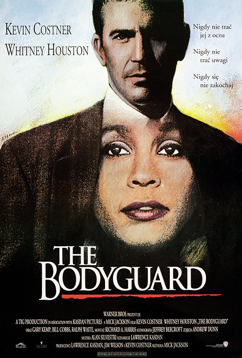 "Movie poster image for ""THE BODYGUARD"""