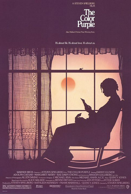 "Movie poster image for ""THE COLOR PURPLE"""