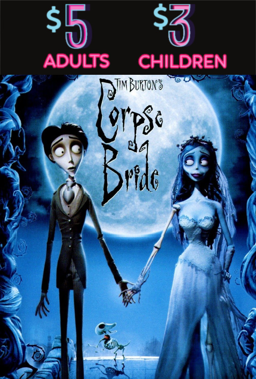Movie poster image for THE CORPSE BRIDE