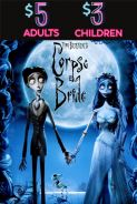 Poster of THE CORPSE BRIDE