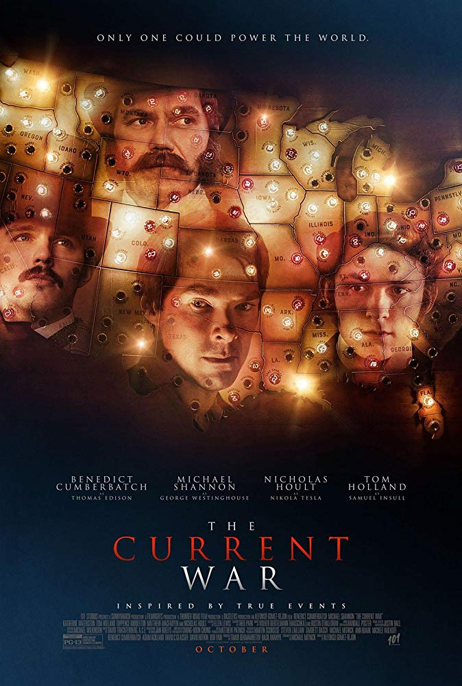 "Movie poster image for ""THE CURRENT WAR"""