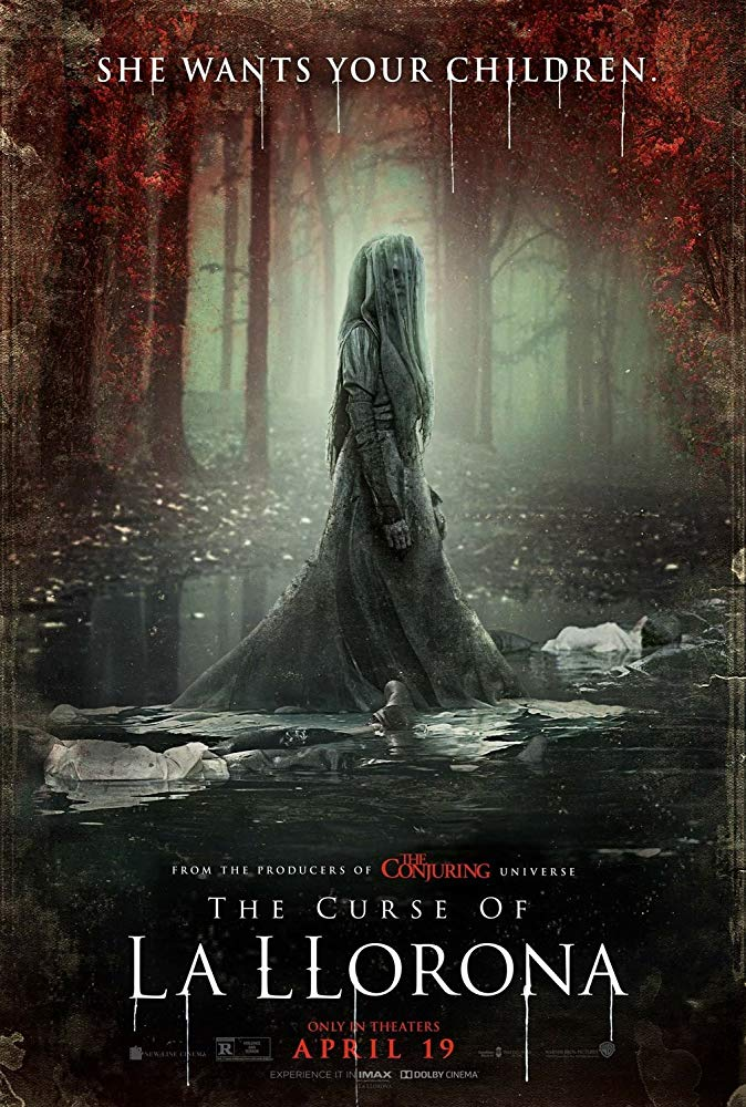 "Movie poster image for ""THE CURSE OF LA LLORONA"""