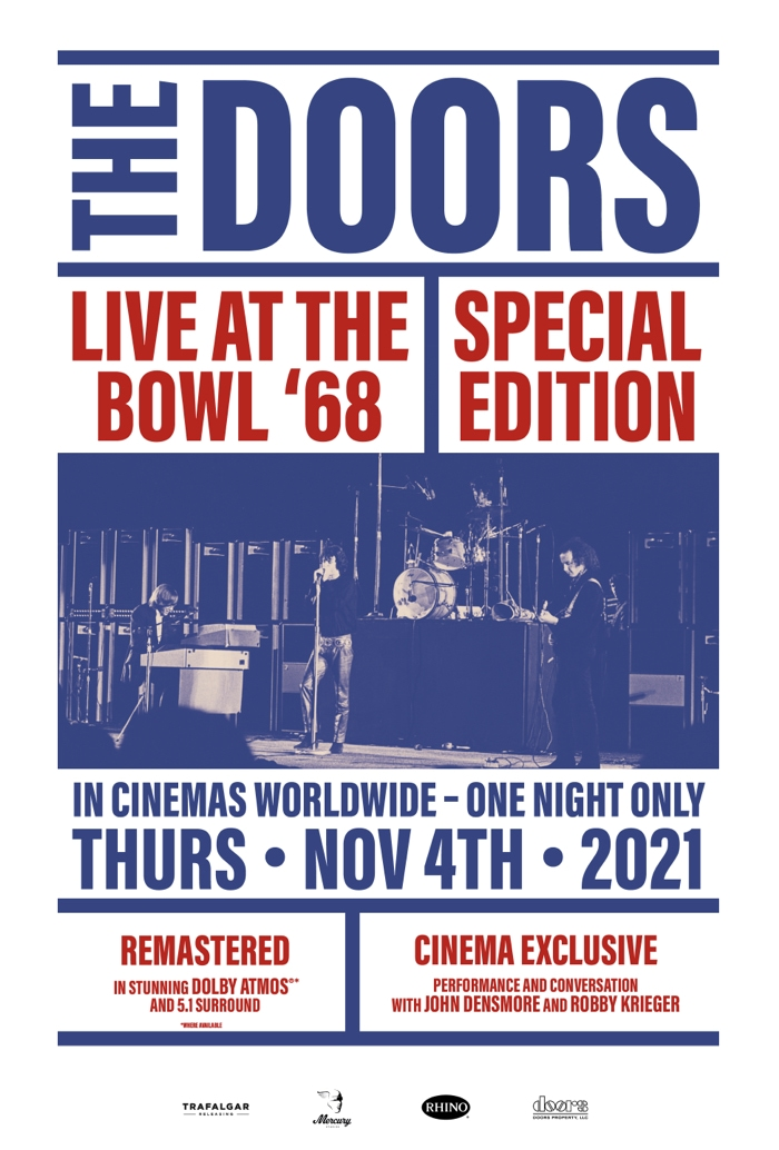 Movie poster image for THE DOORS: LIVE AT THE BOWL '68 SPECIAL EDITION