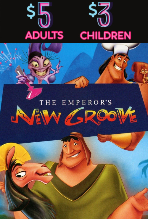 Movie poster image for THE EMPEROR'S NEW GROOVE