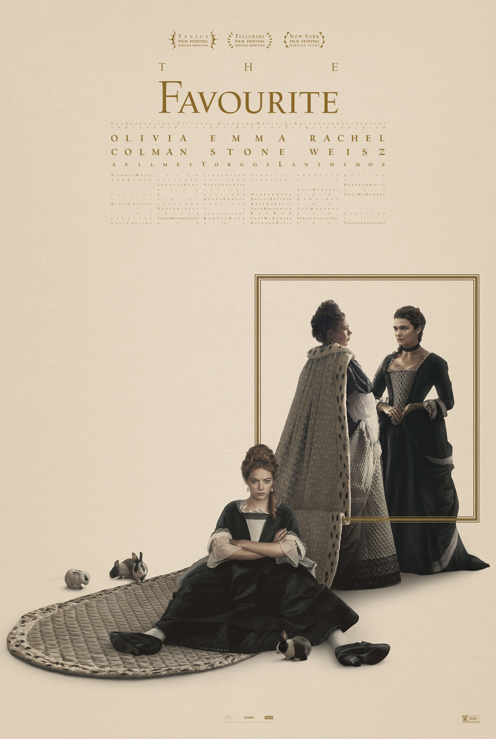"Movie poster image for ""THE FAVOURITE"""