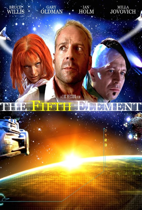 """Movie poster image for """"THE FIFTH ELEMENT"""""""
