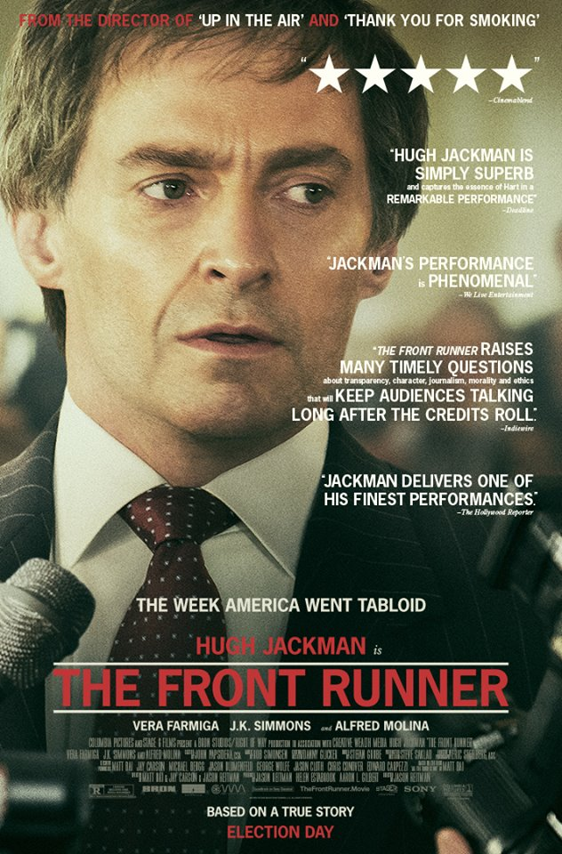 "Movie poster image for ""THE FRONT RUNNER"""