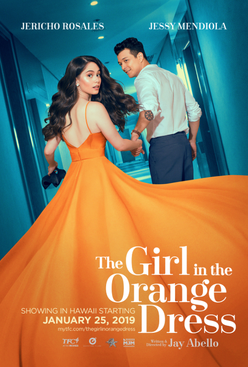 """Movie poster image for """"THE GIRL IN THE ORANGE DRESS"""""""
