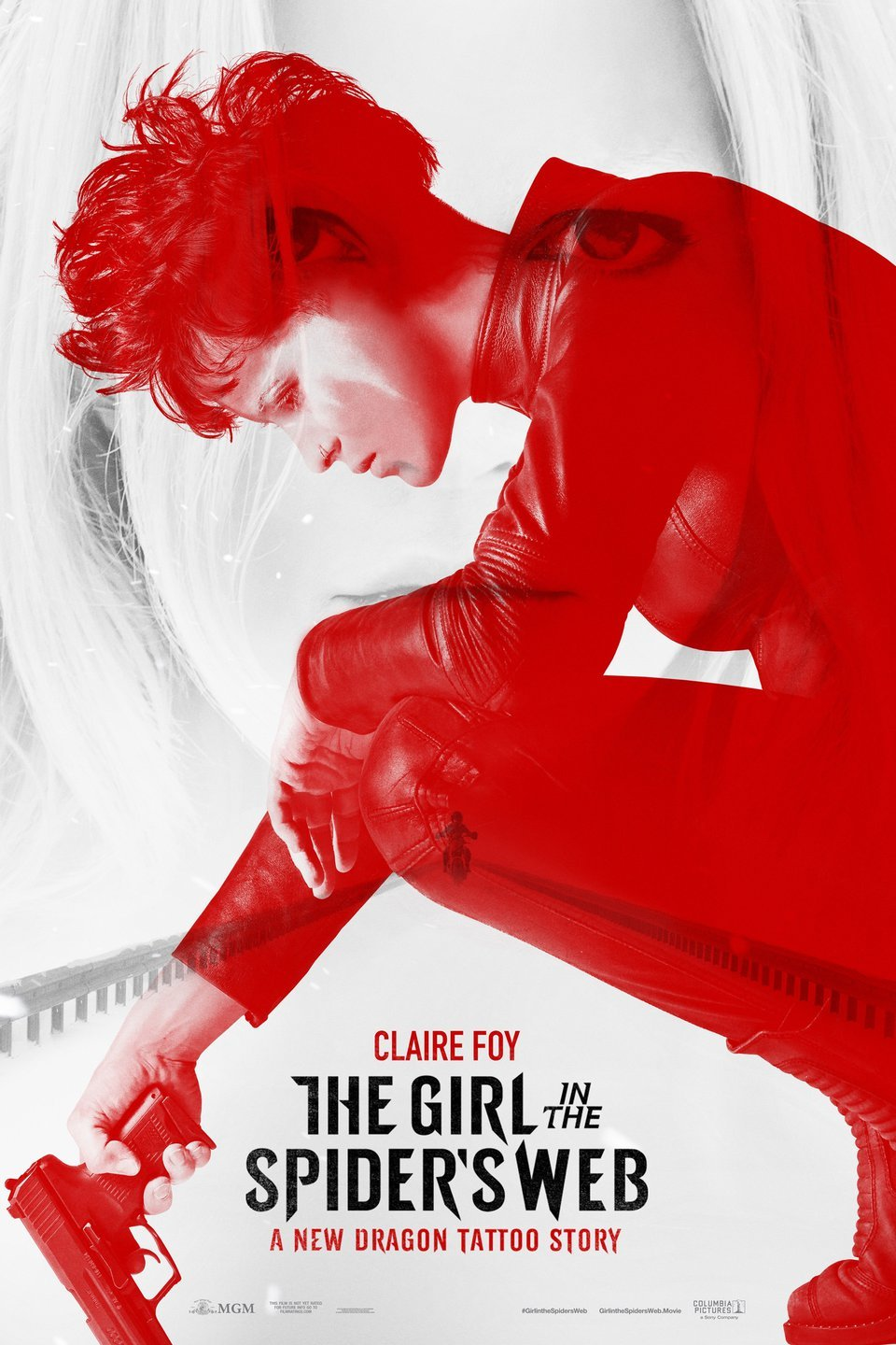 "Movie poster image for ""THE GIRL IN THE SPIDER'S WEB"""