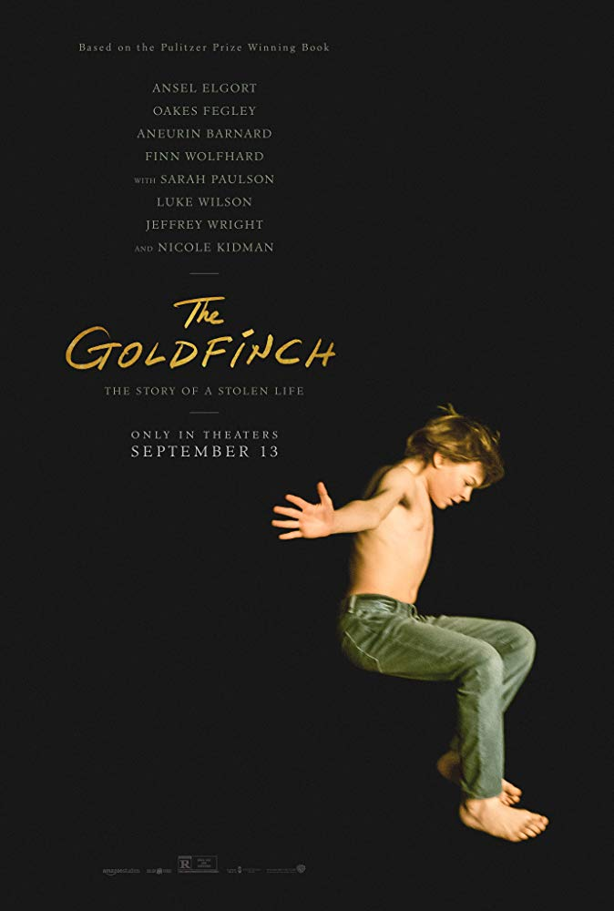 "Movie poster image for ""THE GOLDFINCH"""