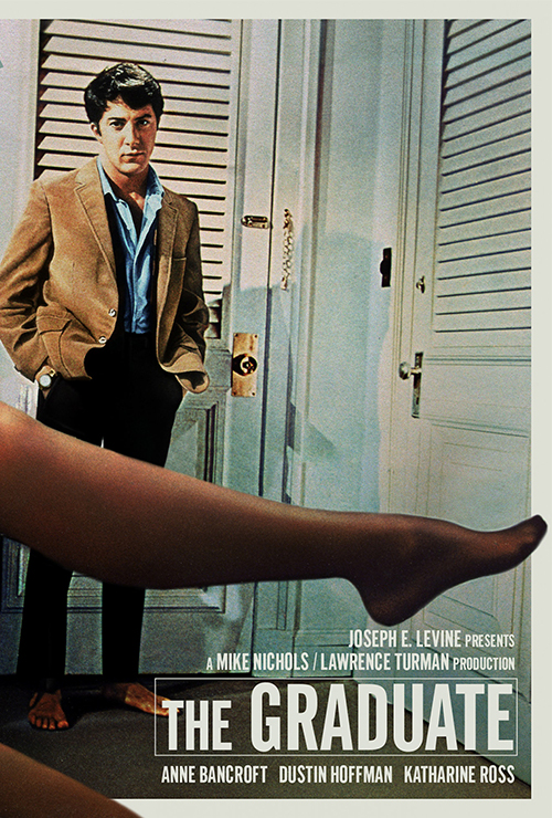 "Movie poster image for ""THE GRADUATE"""
