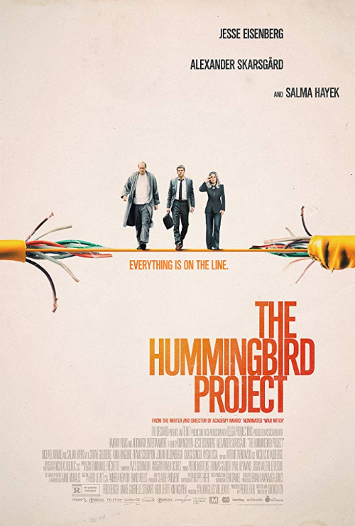 """Movie poster image for """"THE HUMMINGBIRD PROJECT"""""""