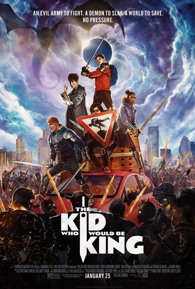 "Movie poster image for ""THE KID WHO WOULD BE KING"""