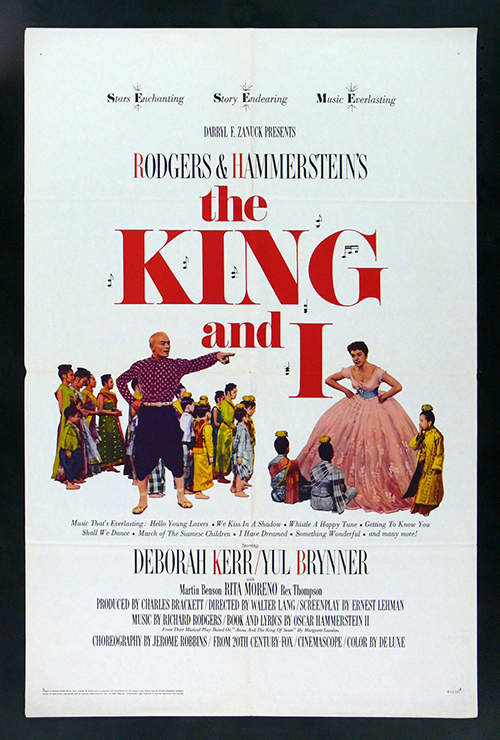 "Movie poster image for ""THE KING AND I"""