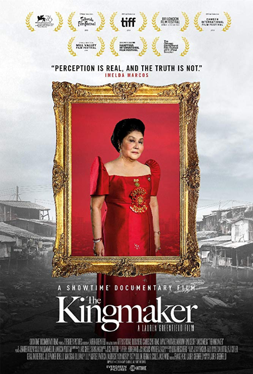 "Movie poster image for ""THE KINGMAKER"""