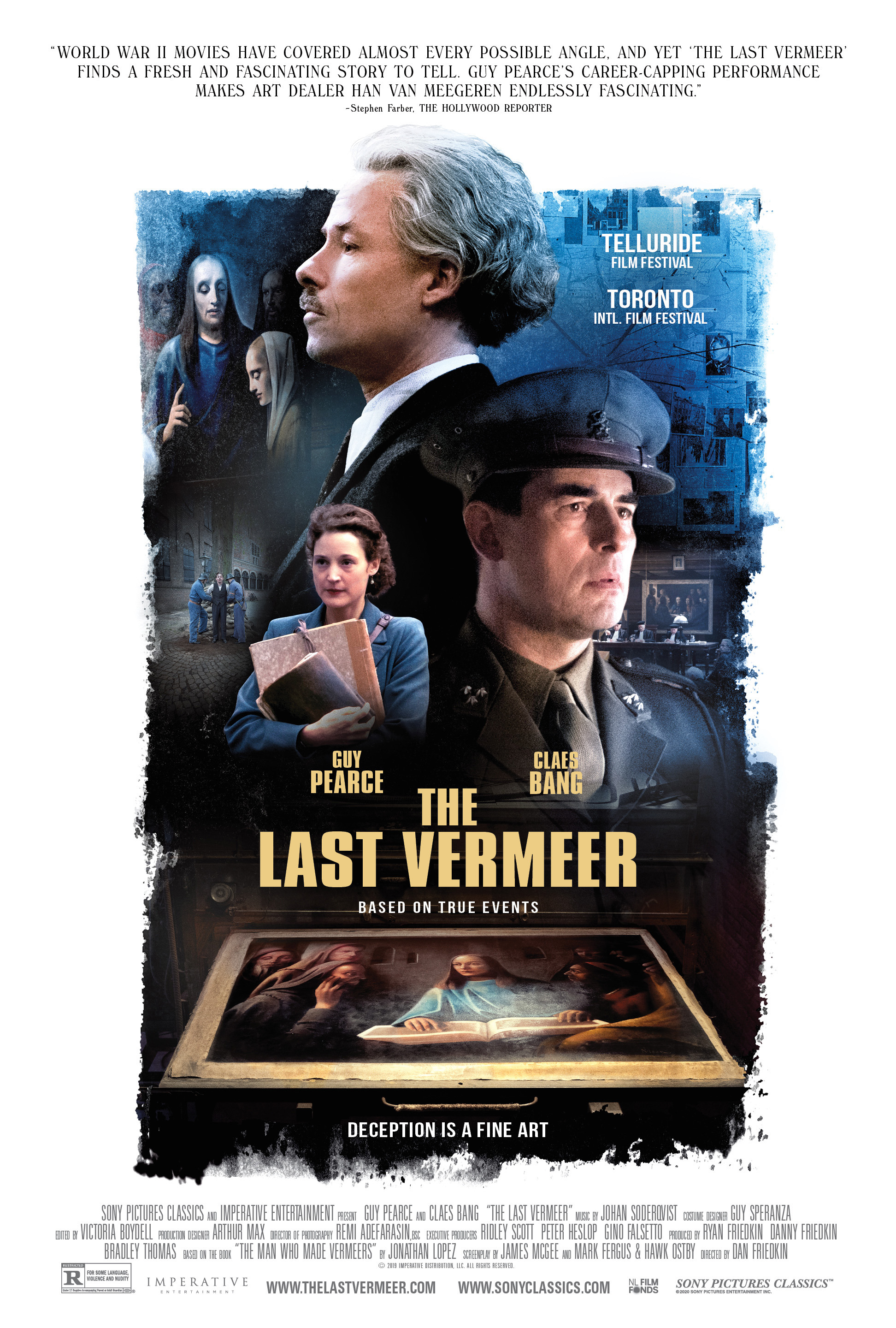 Movie poster image for THE LAST VERMEER