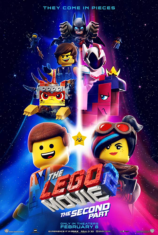 "Movie poster image for ""THE LEGO MOVIE 2: THE SECOND PART"""