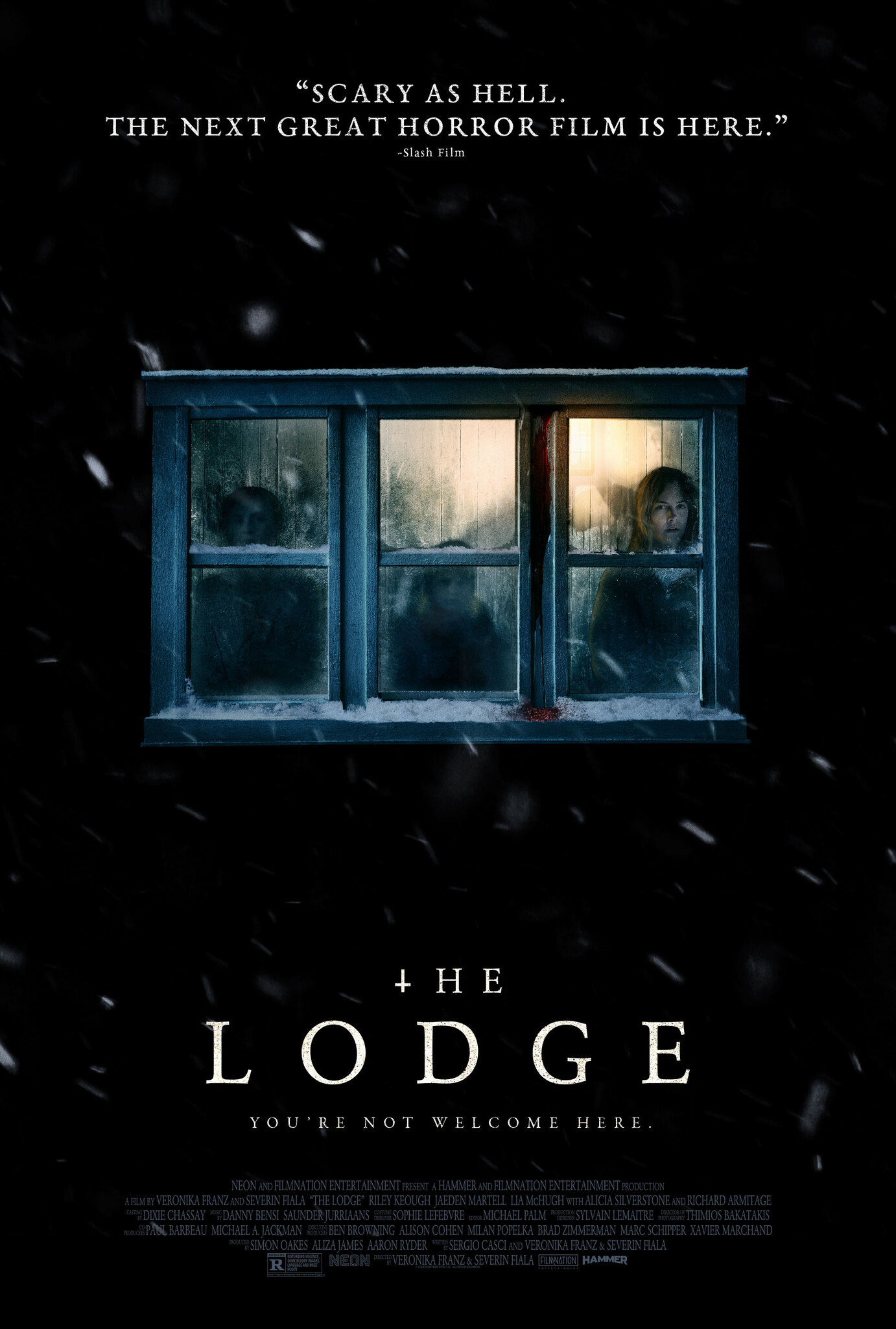 Movie poster image for 'THE LODGE'