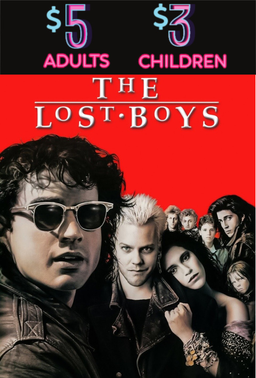 Movie poster image for THE LOST BOYS